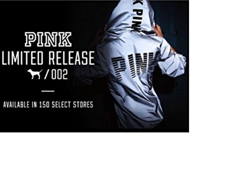 Victoria's Secret PINK Limited Edition 002 Anorak Reflective XS/S with Bag