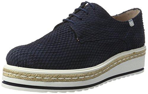Vitti Love 544-018, Zapatos de Cordones Derby para Mujer azul (Blu)