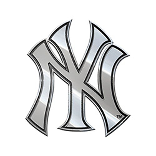 MLB New York Yankees Metal Emblem, 3