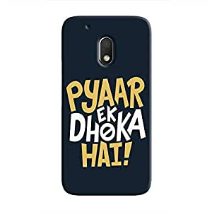 Cover It Up - Love Betrays Moto G4 Play Hard Case