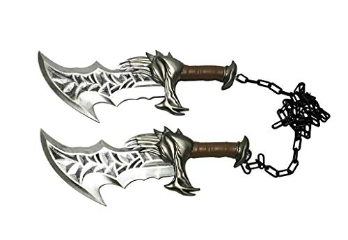 """17"""" Medieval New Blades of Chaos Foam Cosplay Costume Party Prop 1:1 Replica"""