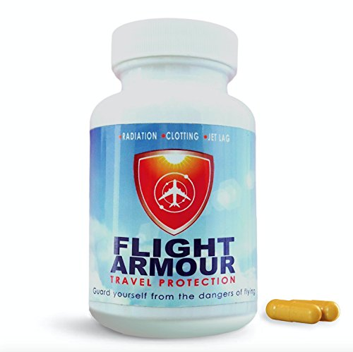 Superior Travel Supplement | Jet Lag and Deep Vein Thrombosis | Compression Socks Alternative | International Flight and Marathon Athletes. Radiation, Blood Clotting, Clots, DVT, Pill, Leg - No Jet Lag Ingredients