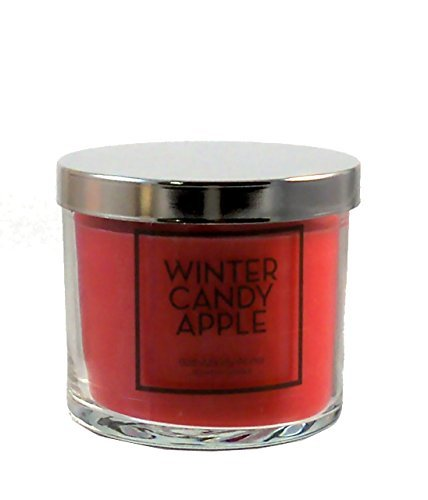 Bath and Body Works Home Winter Candy Apple Scented Candle 4 oz / 113 g