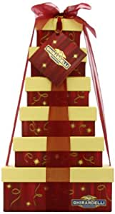 Ghirardelli Holiday Heights Six Tier Gift Tower
