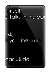 7809014I83081523 Premium Protective Hard Case For Ipad Mini- Nice Design - Oscar Wilde Quote