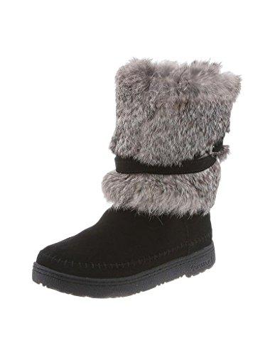 Free Bearpaw Women's Kara Warm Winter Fur Boot