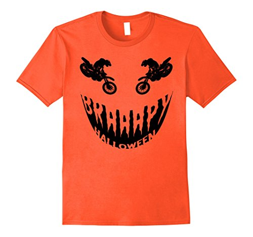 Mens Braaapy Halloween costume motocross dirt bike T-Shirt XL (Motocross Halloween Costumes)