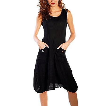 Flying Rabbit Women Beach Dresses Sleeveless with Beautiful Details Summer Dress 41cBzSK7OGL
