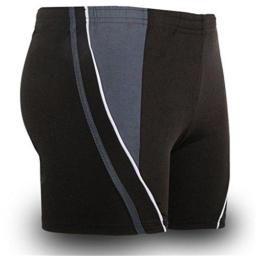 Jingjqingcao Mens Color Block Boxer Shorts Plus Size