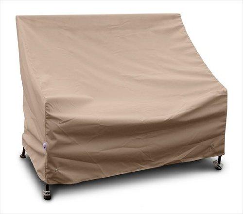 KoverRoos 47351 Highback Loveseat/Sofa Cover, Choose Fabric Color: 4: Toast