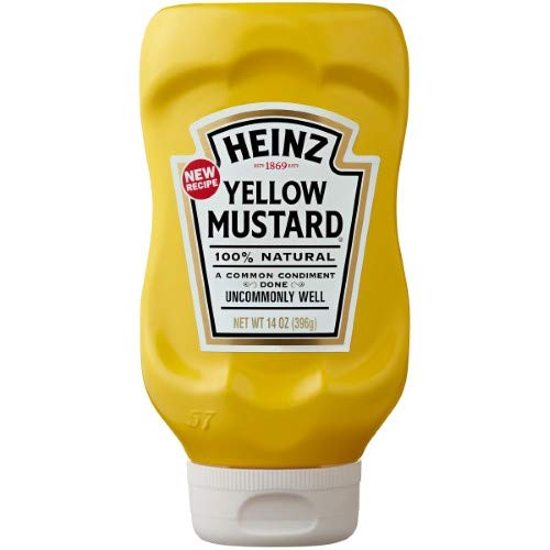 Heinz Yellow Mustard (Pack of 36)