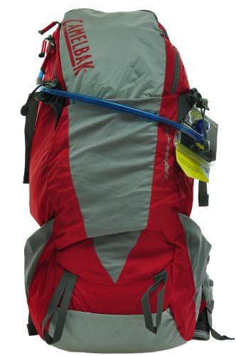 Camelbak Highwire 25 100 oz Hydration Pack, Formula One/Mirage Grey, Outdoor Stuffs