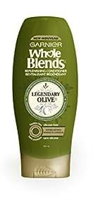Garnier Whole Blends Replenishing Conditioner Legendary Olive, Dry Hair, 22 fl. oz.
