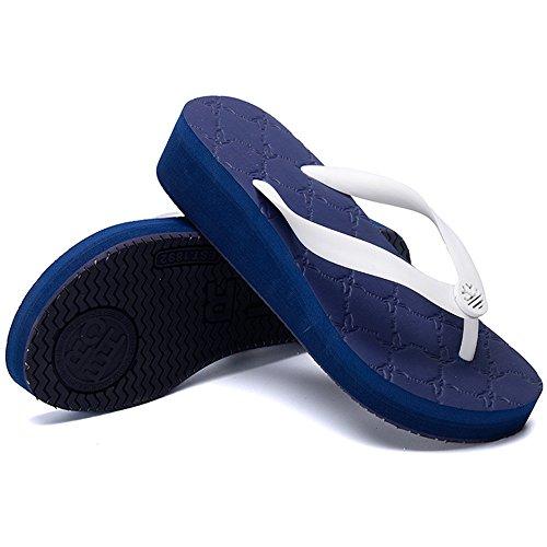 Per Estiva 2 Haizhen colore Pantofole cn36 Moda Eu36 Molti Antiscivolo Dimensioni Le Donna Sandali 3 Scarpe uk4 Con Da Colori Donne PRYdCR