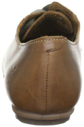 FLY London - Zapatos de cordones de cuero para mujer Marrón (Braun (Camel))