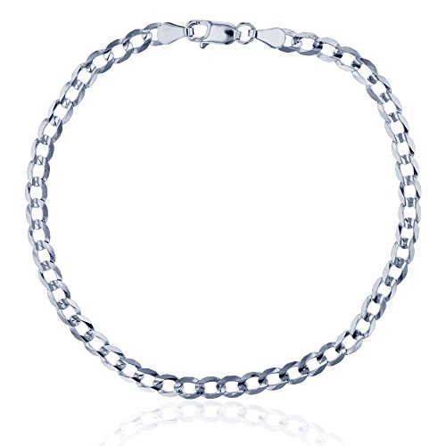 14K White Gold 3.90mm 8