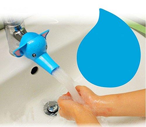Angels  Plastic Cute Animal Kids Baby Water Tap Faucet Extender Washing Hands Bathroom Y