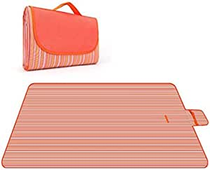 Outdoor & Picnic Blanket Extra Large Sand Proof and Waterproof Portable Beach Mat for Camping Hiking Festivals