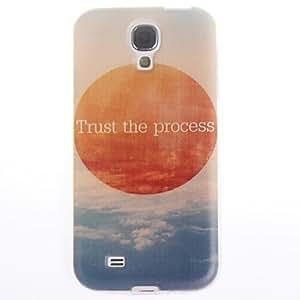 DUR Trust the Process Design Soft Case for Samsung Galaxy S4 mini I9190