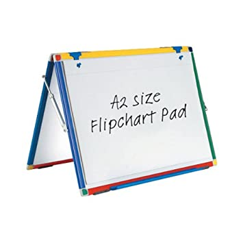 Show-me Flipchart Pad A2 Plain [Pack of 5]