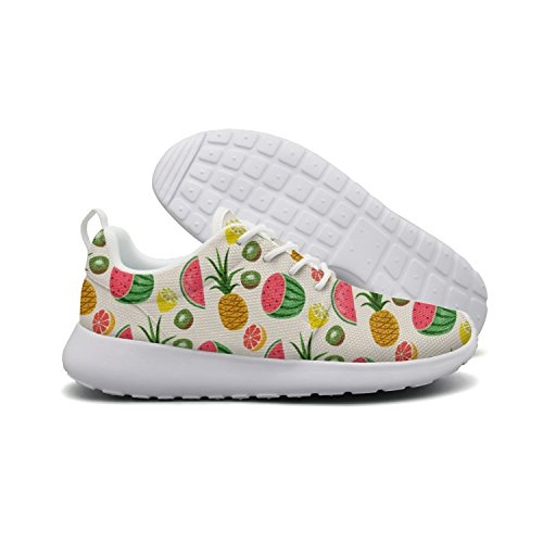 Men's Fruits Pineapple Watermelon Kiwi Running Shoes Fashion Sneakers Walking Shoes by HDIAOnaAO