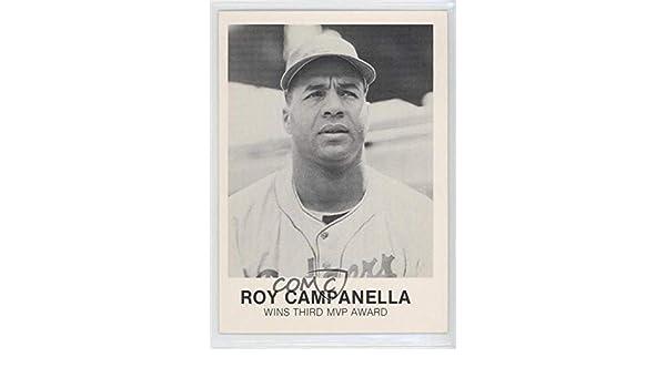 Amazoncom Roy Campanella Baseball Card 1977 84 Tcma