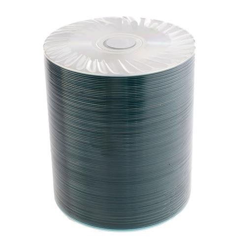 Toughcoat Plus Silver CD 100QTY 100 Disc Spindled Hub Printable