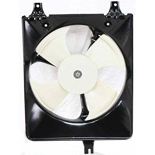 A/C Condenser Fan Assembly for Honda Accord 98-02 4 Cyl. Coupe/Sedan (4 Fan A/c Cyl)