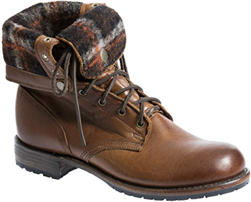Men's Walk-Over Ian Fold-Over Leather Jump Boots -