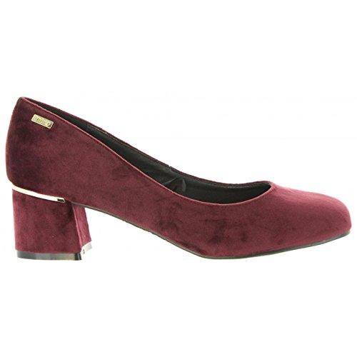 Zapatos Mujer Burdeos C38397 De Tacón Mtng 58439 4HS4Uzqw