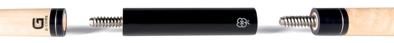McDermott 75-JNTEXT 4インチ 3/8 x 10 ジョイント延長プールキュースティックエクステンダー B07GDCL7DR