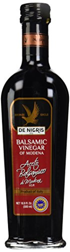 De nigris balsamic vinegar, bronze eagle, 35% grape must, 16. 9 oz 1 natural or organic ingredients