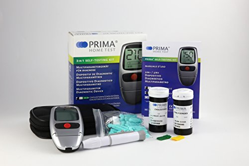 PRIMA Cholesterol Triglycerides Kit FDA Approved product image