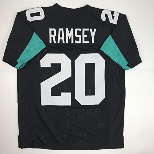 - Unsigned Jalen Ramsey Jacksonville Black Custom Stitched Football Jersey Size Men's XL New No Brands/Logos