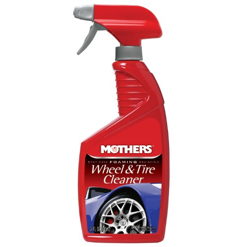 Mothers 05924 Foaming Wheel & Tire Cleaner - 24 oz.