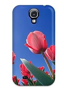 For Galaxy S4 Protector Case Red Tulips Cincinnati Ohio Phone Cover