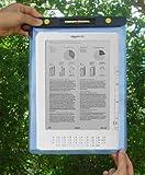 TrendyDigital WaterGuard Waterproof Case for Kindle DX, Blue Border
