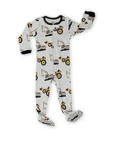 Elowel Kid's Bulldozer Pajama Sleeper