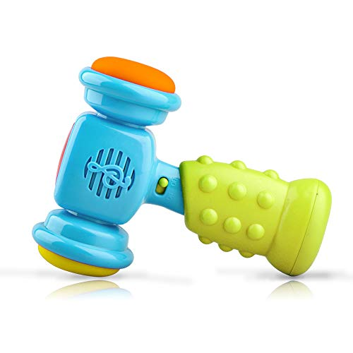 SUGOO Toy for 1-3 Year Old Kids Boys, Shaking Music Hammer Toy Age 1-2 Girls Boys Birthday Gift for 2-3 Year Old Boy Baby Girl Gift Age 1 2 3 - Hammer Music