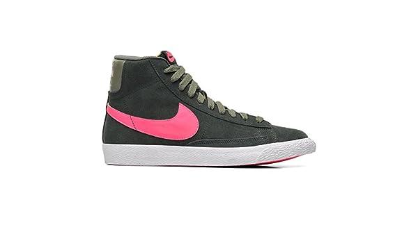 new style 6b8c4 ff667 Nike Blazer Mid Vintage Zapatillas Moda Sneakers Gris Rosa para Mujer   Amazon.es  Deportes y aire libre