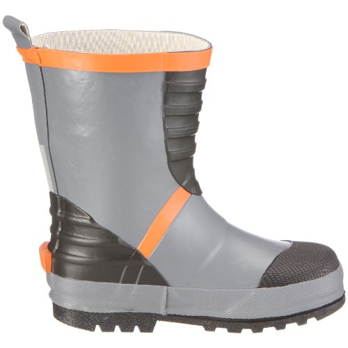 Chuva Kindergummistiefel Chuva Melody CHKISVEN Unisex - Kinder Stiefel Grau(Grijs/Oranje)