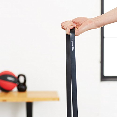 AmazonBasics 30 to 60 Pound Resistance Pull Up Band - 3/4 Inch, Black