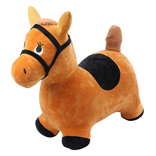 Sagton Costume Inflatable Suit Hopping Horse Outdoors Ride On Bouncy Animal Play Toys Inflatable Hopper (I02-302)]()