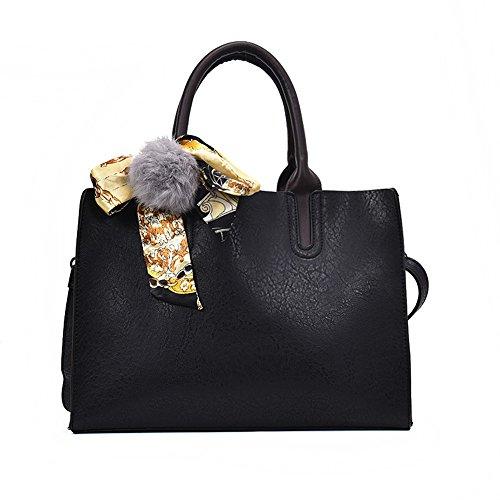 Nuevo Black Simple Moda Cartera Verde De Bolso De Bolso GWQGZ Moda De Señora qZ1Hvwxt