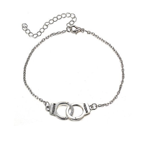 TraveT Love Handcuffs Fashion Anklets Women Anklets jewelry