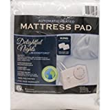 Biddeford 5900 Automatic Electric Heated Mattress Fitted Pad, White (King)