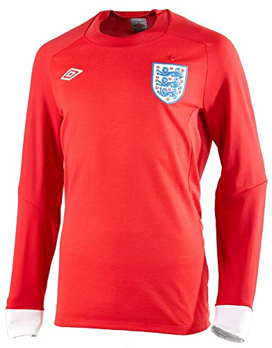 (UMBRO England Away Long Sleeve Jersey 2010 - Size S(36))