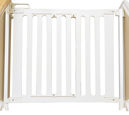 Qdos Spectrum Hardware Mount Baby Safety Gate   White – Modern Design & Unparalleled Safety – Crafted from Single Piece…