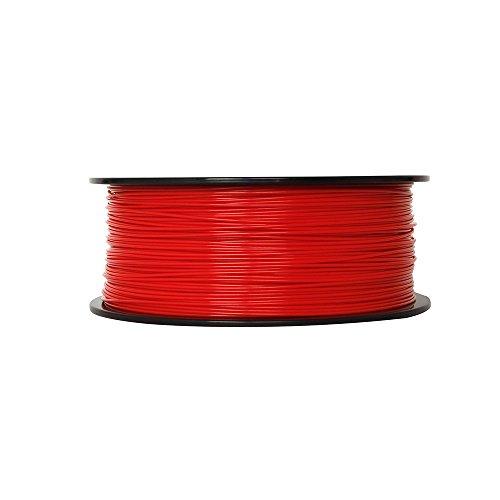 MakerBot ABS Filament, 1.75 mm Diameter, 1 kg Spool, Red