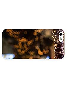 iPhone 5&5S cover case Countries And Cities Christmas Garland Lights New Year Winter by heat sublimation